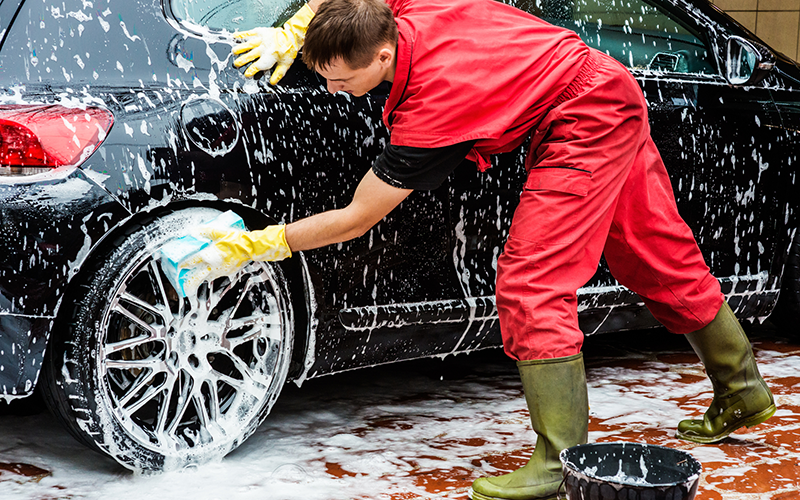 Car Washing By Hand