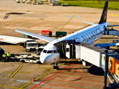 white-air-alliance-airplane-on-the-airport